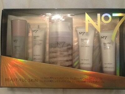 No7 BEAUTIFUL SKIN REGIME COLLECTION GIFT SET IN A PRESENTATION BOX BRAND NEW