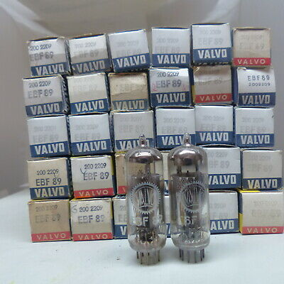 1x EBF89-VALVO-RÖHRE-TUBE-NOS-IN-BOX unused Valvola #4