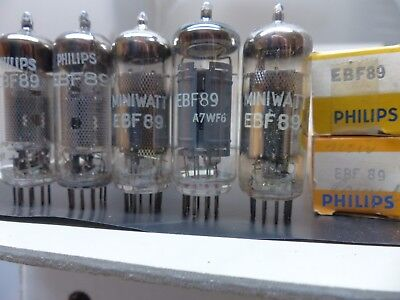 1x EBF89-Philips Miniwatt -RÖHRE-TUBE-NOS-IN-BOX unused Valvola #4