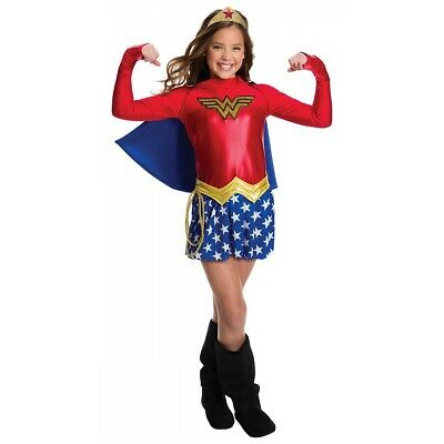 Wonder Woman Costume DC Comics Halloween Fancy Dress