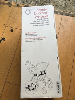New In Box - Bugaboo Bee+ Single Graco Car Seat Adapter