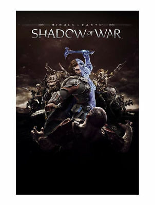 PlayStation 4 : Middle-earth: Shadow of War (PS4) VideoGames Fast and FREE P & P