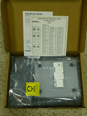 NEW - National Instruments NI SCB-68 Shielded Connector Block / Screw Terminal