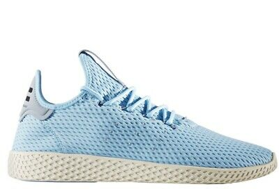 be7e385b9844  CP9764  Mens Adidas Originals Pharrell Williams PW Tennis HU - Icey Blue