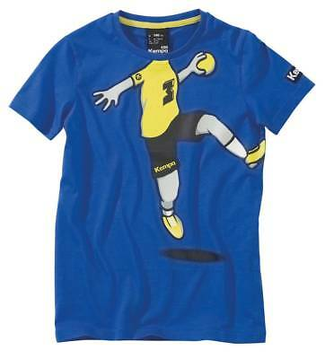 Kempa Cartoon Player T-SHIRT Handball Kinder blau NEU 70405