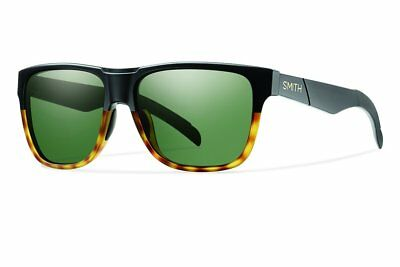 New Men's Smith Optics Lowdown Carbonic Sunglasses Matte Black Tortoise/Green