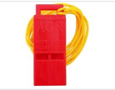 """ACR 2228 WW-3 Survival Res-Q Whistle with 18"""" Lanyard"""