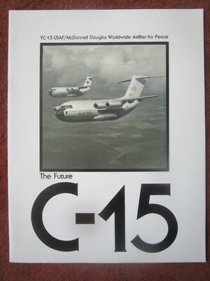 Plaquette Mcdonnell Douglas Yc-15 Usaf Airlifter