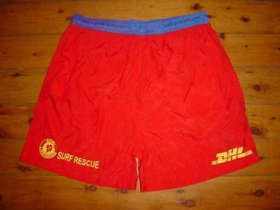 Sydney Surf Rescue Australia Beach Lifesaver Dhl Red Bnwt Shorts 2Xl