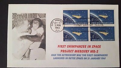 ★ Us - First Chimpanzee In Space Project Mercury Mr-2 - Space Animal