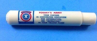 Vintage Army Recruiting Chalk Holder Today's Army With Chalk