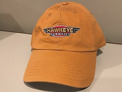 Hawkeye Robotics    Hat Relaxed Casual  Fit Cap RARE   NEW