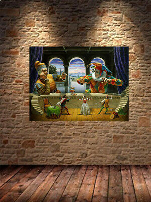 HD Canvas Print home decor wall art painting michael cheval 14 No Frame H790