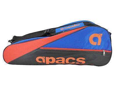 APACS Double Compartment Racket Bag AP607 with Shoe Compartment FREE SHIPPING