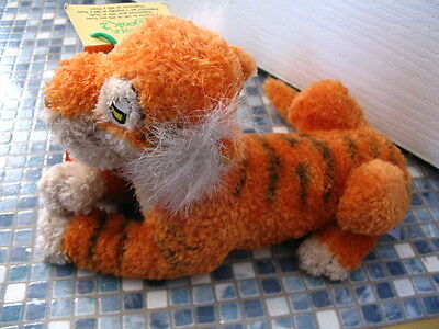 Disney Store Shere Khan Jungle Book Beanbag Toy Collectable BRAND NEW VERY RARE