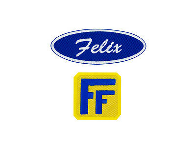 Fix-It Felix, Jr Patch Set Cosplay Costume Embroidered Iron On Patch Set 4 inch