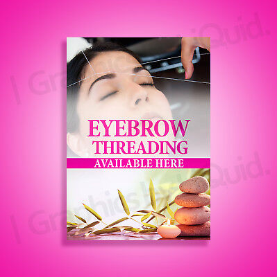 Microblading Eyebrow Beauty Salon Therapy Advertising A5 A4 A3 A2 A1 A0 Sizes