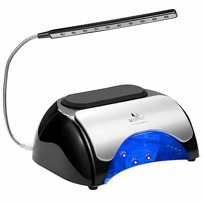 Nail Lamp, USpicy 48W LED UV Nail Dryer for Gel Based Polishes with Automatic Se