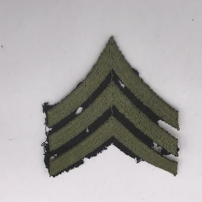 Vintage WWII Korean War Era US Army Sergeant Chevron Patch