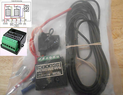 Combination Relay, Self Sensing/Switching, Dual Charging for Caravans/Motorhomes