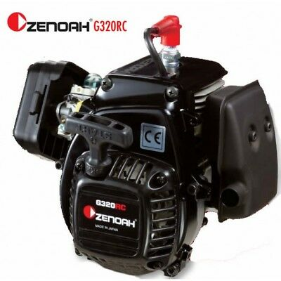 HPI Baja - Zenoah G320Rc 31.8cc 4-Bolt Engine - Complete With Clutch 32cc  DDM-B