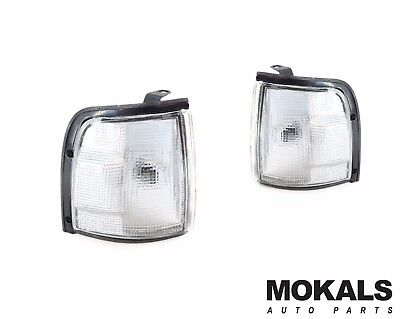 Corner park Lights in White left and right  Holden Rodeo ute TF 1988-1997