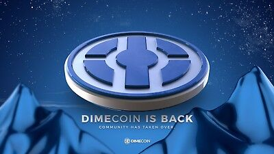 1,000,000 DIMECoins Crypto currency investment, Invest Now!