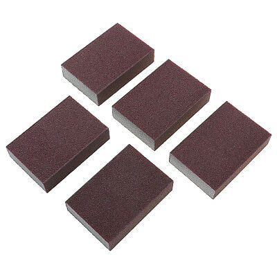 5pcs Polishing Sanding Sponge Pad Block Sandpaper Emery Home Hardware Cleaning
