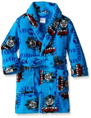 Thomas the Train Little Boys Plush Robe, Blue, 2T by Thomas & Friends