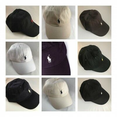 BNWT Ralph Lauren Cap Polo Buckle Small Pony RRP £35 Several Colours to Choose