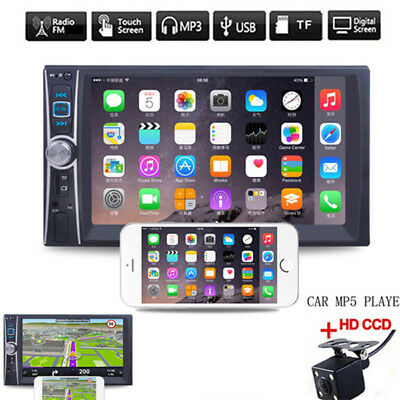 6.6'' Double 2DIN DVD Player Bluetooth MP4/Audio/Video Rearview Camera USEFUL+++