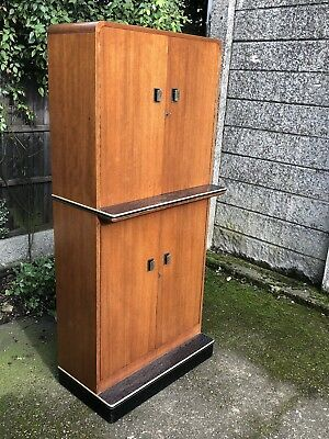 Fine Art Deco/retro Teak Drinks Cabinet Fab Condition Delivery Available