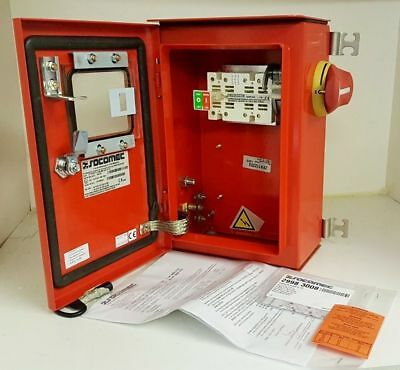 Craig Derricott 50A 3P TP&N Switch Disconnector Isolator Explosion Proof Safety