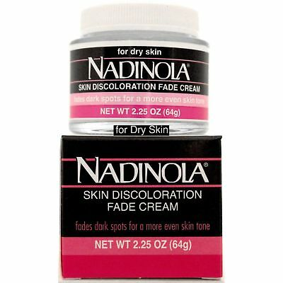 Nadinola Skin Discoloration Fade Cream 2.25 Oz For Dry Skin