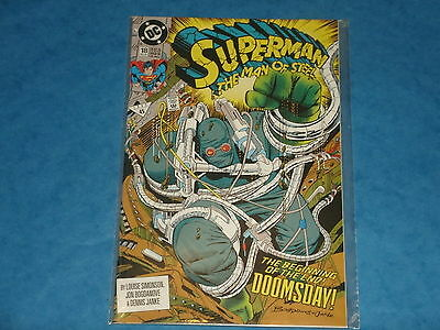 DC Comics: Superman The Man Of Steel #18 Dec.1992 1st Full Appearance Doomsday
