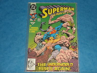 DC Comics: Superman The Man Of Steel #17 Nov.1992 1st Cameo Appearance Doomsday