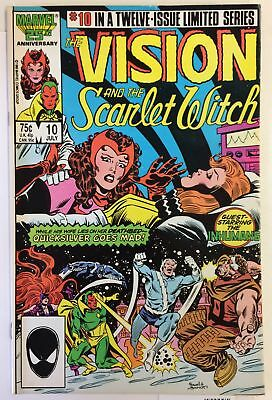 Vision and the Scarlet Witch #10 NM- INHUMANS AVENGERS 1st CUIDADOR Marvel Comic