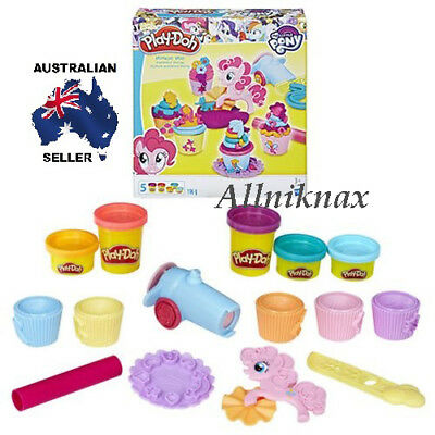 My Little Pony Play-Doh Pinkie Pie Cupcake Party kids toys girls