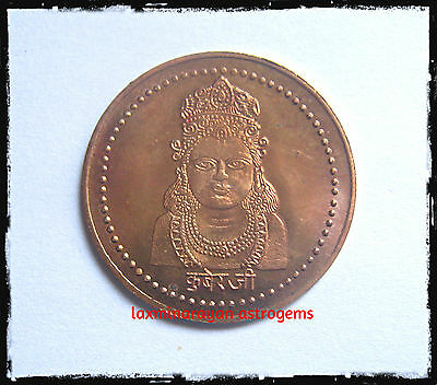 Kuber Kubera Copper Pocket Coin Vaisravana Ekaksipingala Raja Coin Copper