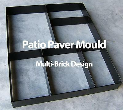 Paver Maker Patio Mould  - Reusable Robust Metal - Make Your Own Pathway