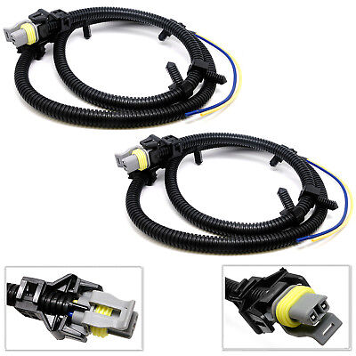 2X ABS WHEEL Sd Sensor Wire Harness For Chevrolet Impala Monte Carlo Abs Wheel Sd Sensor Wire Harness on