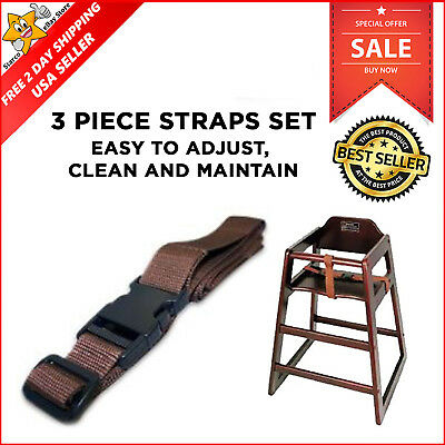 Chh-3 Restaurant High Chair Security Straps For Kids Children Chair Safety New