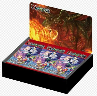 Force Of Will Ccg A4 Alice Cluster The Battle For Attoractia Booster Sealed Box