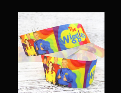 """New Wiggles Ribbon 1m long 1"""" wide"""