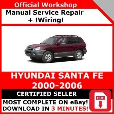 haynes workshop manual hyundai santa fe 2001 2012 service repair rh picclick co uk Hyundai Santa Fe Maintenance hyundai santa fe 2001 workshop manual