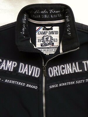 camp david herren jacke fleecejacke mit kapuze gr xl eur. Black Bedroom Furniture Sets. Home Design Ideas