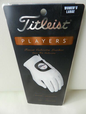 Titleist Players Golfhandschuh Womens Finest Cabretta Leather Gr.L UVP 27€uro