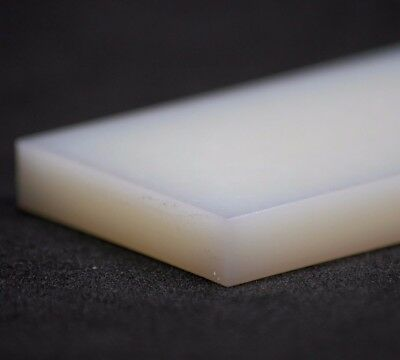 Nylon 66 Plastic Sheet Block Plate | All Sizes | Natural (White)