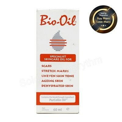 Bio Oil for Scars, Stretch Marks, aging, uneven Skin 60 ml