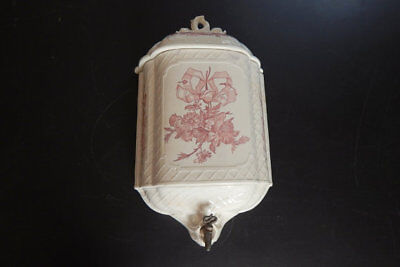 French Antique Porcelain Water Container Gorgeous and Heavy ...and 'So French'